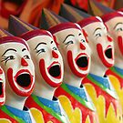 Laughing Clowns by Jennifer Saville