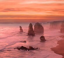 Days End - 12 Apostles by Paul Oliver