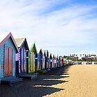 Brighton Beach Boxes by Paul Oliver