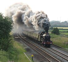 Steaming down the track by mftaylor2000