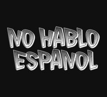 large funny no hablo espanol cinco de mayo emo t shirt by personalized