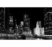 City signature - Chicago, IL Photographic Print