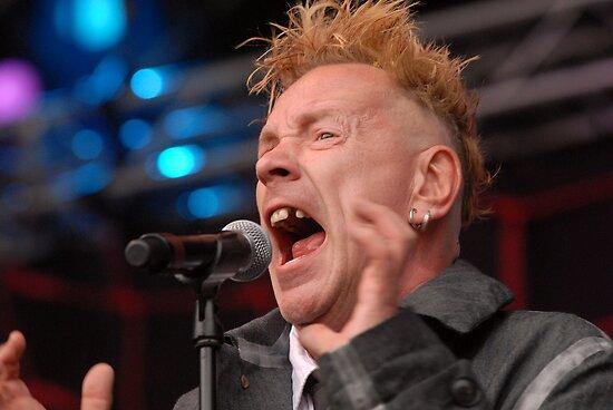 A Sex Pistol by Dave Hudspeth