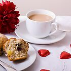 A Romantic Cuppa by Lynne Morris