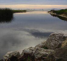 Quiet Reflection, Santa Barbara, CA 2011 by J.D. Grubb