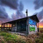 Painted Farm House by Matt Haysom