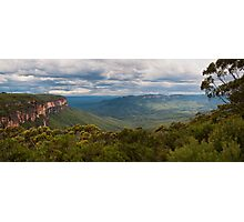 Jamison Valley from Wentworth Falls Lookout Photographic Print
