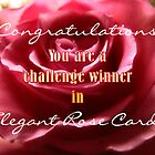 Elegant Rose Card banner challenge by vigor