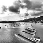 St Thomas Port  USVI by Rosalie Scanlon