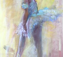 Dancer drawing #10 .... standing position.... by vasenoir