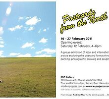 Exhibition - Postcards from the North at ESP Gallery by Julie-Ann Vellios