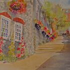 Bottom of Church hill- Hythe- Kent by Beatrice Cloake