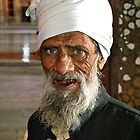 Keeper of the grain store- Agra, India by mypic
