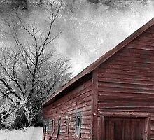 Red Barn II by Josie Duff