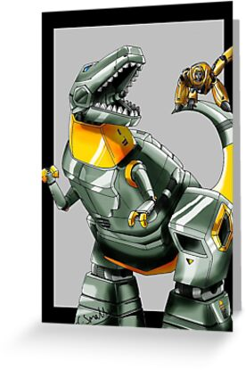 Transformers: Grimlock And Wheelie 2 by Qutone
