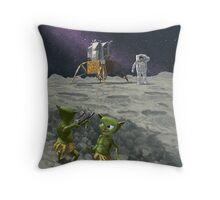 moon catapult Throw Pillow