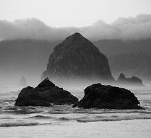 Haystack Rock by Sheri Bawtinheimer