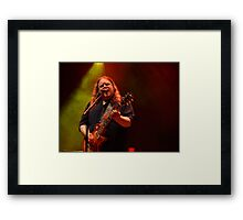 #81 Warren Haynes Framed Print