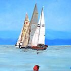 The Sailing Regatta by Teresa Dominici