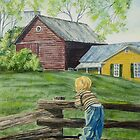 Farm Boy by Charlotte  Blanchard
