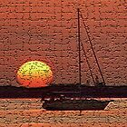 Abstract Sailors Sunrise by Mike Hendren