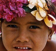 polynesia portrait by Bruce  Dickson