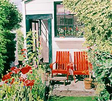 The Gardeners House by David Lloyd Glover