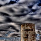 Newark, Texas Water Tower by jphall
