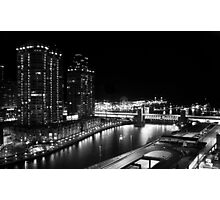 Night time - Chicago, IL Photographic Print