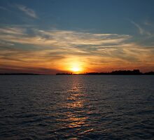 St. Lawrence Sunset by macbones