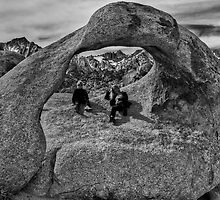 The Girls, The Arch, and Mt. Whitney by Chris Morrison