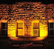 Boskos • Pasta & Pizza • 1888? Calistoga, California by Richard  Leon