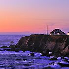 Point Arena Lighthouse  •  California Coast Highway by Richard  Leon