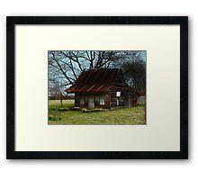 Dollhouse Cabin Framed Print