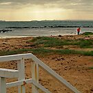 View from Barwon Heads to the Rip by Joe Mortelliti