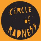 Circle of Radness - Original RuffBat Tee by RuffBat