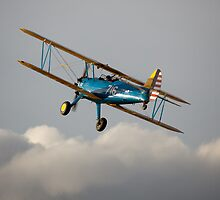 PT13-D Stearman biplane by Tony Roddam