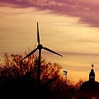Of Sunrises And Wind Turbines by Alex L