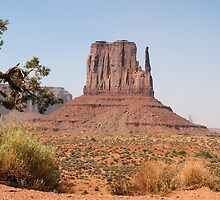 West Mitten Butte at Monument Valley by genez