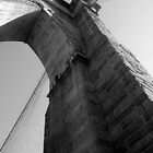 Brooklyn Bridge, West Tower by Richard Butler