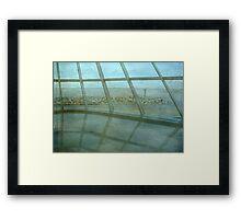 MAM...Milwaukee Art Museum...indoors ©  Framed Print