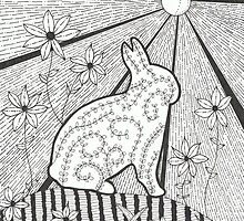 Garden Bunny by Kelly Robinson