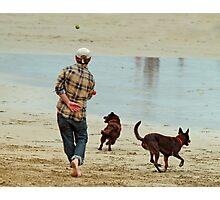 Go Fetch ... Photographic Print