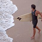Heading Into the Surf by Brendon Perkins