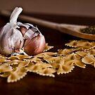 Still Life with Garlic by Adriana Glackin