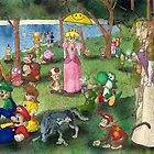 Sunday Afternoon on the Island of Nintendo by Jesse Rubenfeld