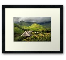 Ahhh, but Africa is beautiful.... Framed Print