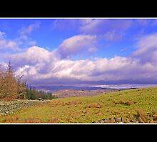 Clouds Over Windermere by Nathan  Holmes