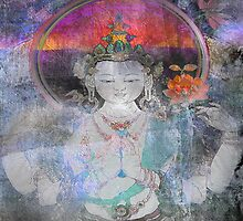Blue ~Love ~ White Tara   by linaji-cards