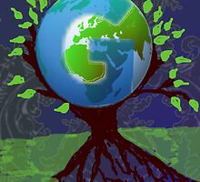 geni tree logo by Terry Jackson